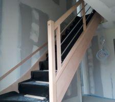 L'escalier est arrivé