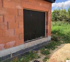 Porte de chantier