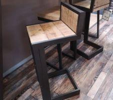 Ces chaises hautes m'ont fait un petit clin d'?il au magasin... #reflexion