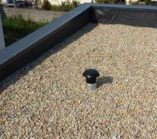 Installation de la VMC - sortie de toiture