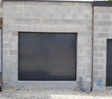 Porte de garage .