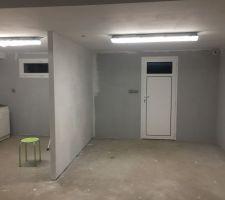 Cloisonnement garage
