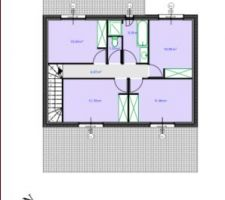 plan maison 1er étage