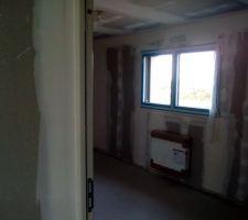 étage, chauffage chambre 2