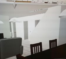 Idée de mur en diagonale