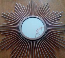 Miroir soleil doré maison du monde