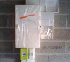 Tableau électrique avec compteur linky