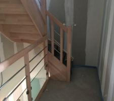 Escaliers au 1er etage
