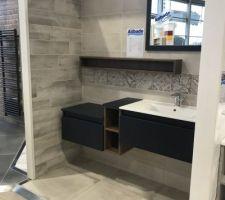 Modèle futur salle de bain sans le meuble. ?