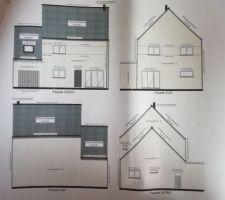 Les 4 façades