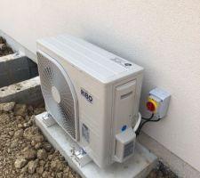 Mise en service du groupe de pompe à chaleur