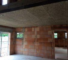 Isolant polystyrène plafond garage