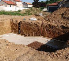 Fondations et puits de décompression