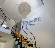 Escalier et algues Vitra