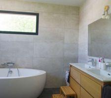 Salle de bain finie ou presque