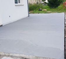 Finition du beton