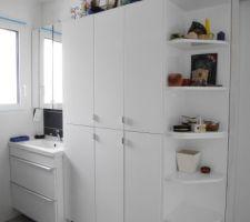 Les meubles de la salle d'eau