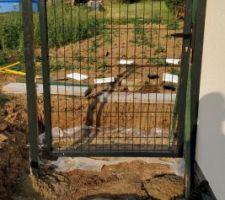 17.07.2018 : Pose des portillons de jardin