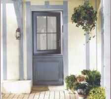 L'accès terrasse cuisine se fera par une porte fermière un rêve de gosse ?
