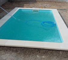 Et voila , terminée , l'eau est à 29°