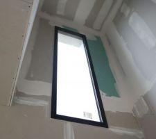 Fenêtre dans escalier