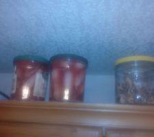 Essai de radis (achetés) lactofermentés