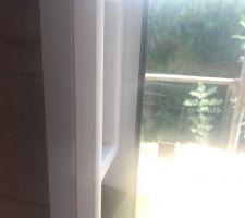 Poignée baie vitrée