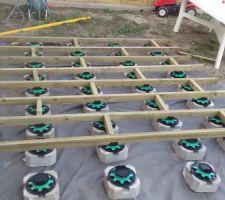 Installation plots et lambourdes