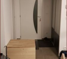Démarrage du meuble de séparation