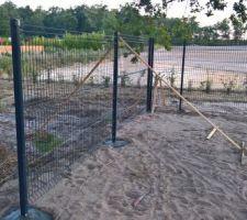 Démarrage de la clôture