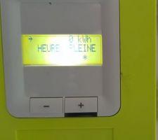 Électricité fonctionnelle !!! :)
