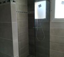 Faience SDB du bas et douche à l'italienne
