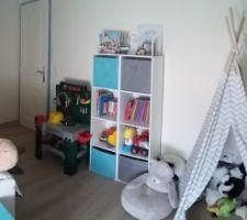 Chambre de notre fils terminée