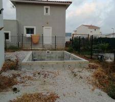 Travaux piscine et terrasses