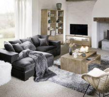 Canapé d'angle Bruges