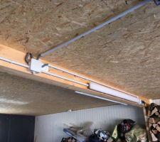 Plafond osb garage .