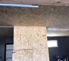Cloison aménagement Garage.