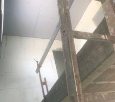 Pose Carreau de plâtre étage