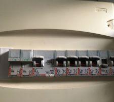 Tableau électrique actuel