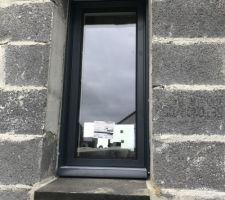 Fenêtre des toilettes