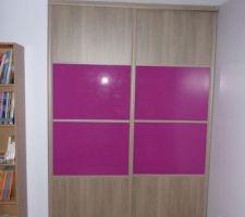 portes de placard du bureau