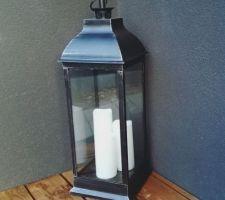 Lanterne Atmosphera pour la terrasse