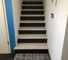 1er escalier