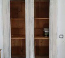 Customisation de l'armoire.