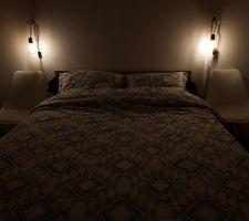 Lampe de chevet Home made