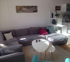 Le nouveau canapé (maisons du monde)