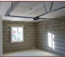 Option : plafond isolant garage