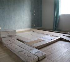 Le lit en pièce détaché