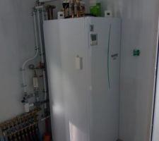 Pose du système de chauffage