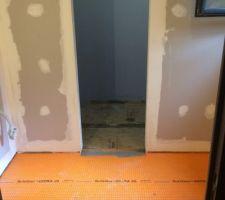 La reconstruction de la salle d'eau parentale